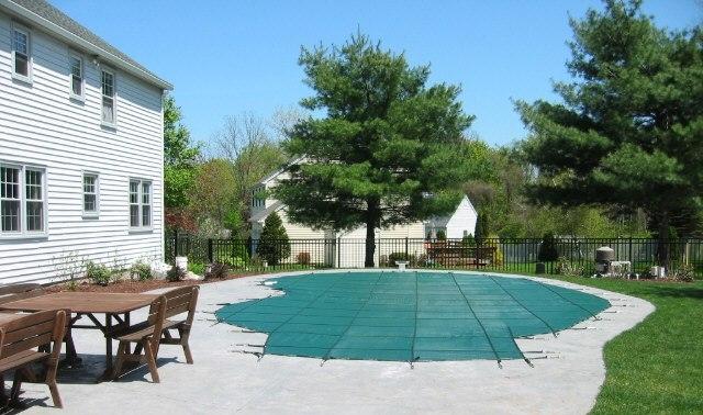 Pool Cover - kidney 1